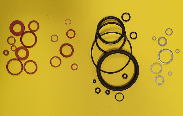 TABLES O-RING AND WASHERS
